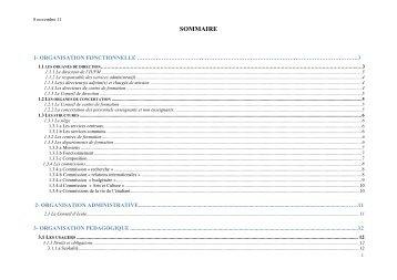 Règlement Intérieur - IUFM