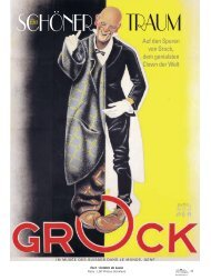 Grock, der Clown - Magazine Sports et Loisirs