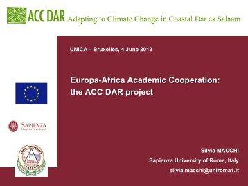 Presentation - Adapting to Climate Change in Coastal Dar es Salaam