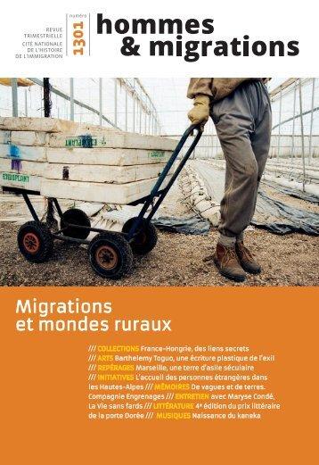Migrations et mondes ruraux - Hommes et Migrations