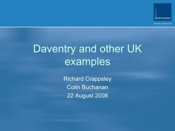 Daventry and other UK examples - Advanced Transit Association