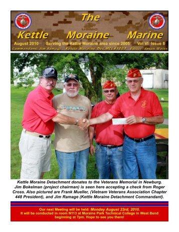 Aug newsletter.qxd - Kettle Moraine Detachment
