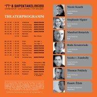 Das Theaterprogramm als PDF zum Herunterladen ... - SHpektakel