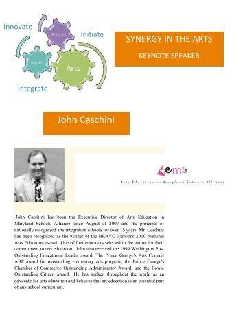 John Ceschini - Washington County, MD Public Schools