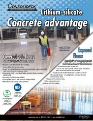 Concrete / Sustainable Advantage Flyer