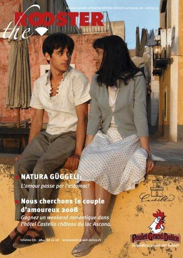 NATURA GÜGGELI: Nous cherchons le couple d'amoureux 2008