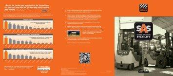 Download SAS Brochure - Toyota Material Handling, U.S.A., Inc.