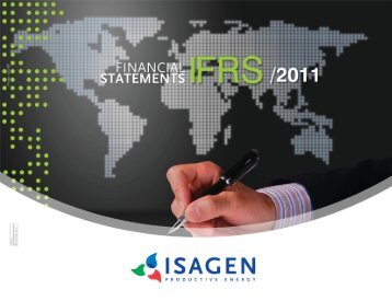 IFRS Financial Statements 2011 ISAGEN S.A. E.S.P.