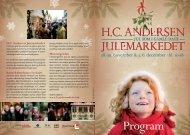 Se hele programmet for H.C. Andersen Julemarkedet.