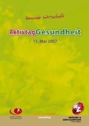 download Aktivtag 2007 - gesundewirtschaft.at