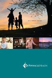 2012 ANNUAL REPORT - PinnacleHealth System