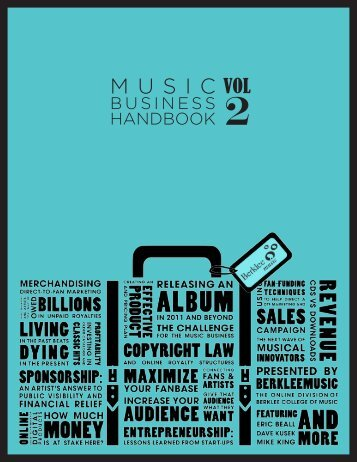 BUSINESS HANDBOOK - School of Music