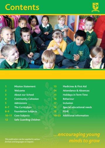 Contents - Saint Patrick's Catholic Voluntary Academy