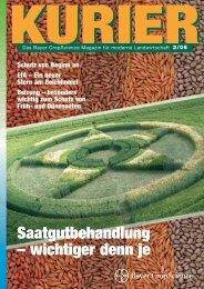 Saatgutbehandlung – wichtiger denn je