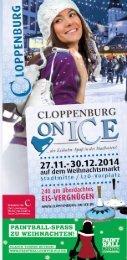 Flyer Cloppenburg on Ice / Weihnachtsmarkt 2014 in Cloppenburg.pdf