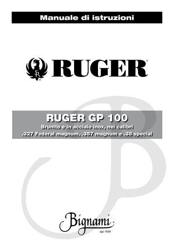 Ruger GP 100_M_ita.pdf - Bignami