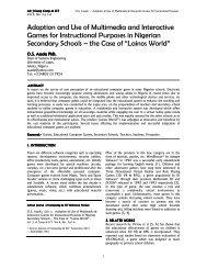 Vol 4 No 3 Paper 1 Afr J - IEEE Afr J Comp & ICTs