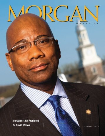 Mag Vol I 2010 v0.1 - Morgan State University