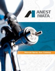 Gravity Fed Spray Guns - ASET