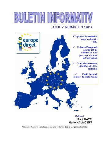 No. - Europe Direct Iasi
