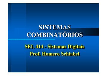 Sistemas Combinatórios - Iris.sel.eesc.sc.usp.br