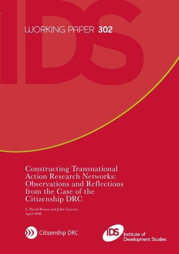 Constructing Transnational Action Research Networks - DRC ...