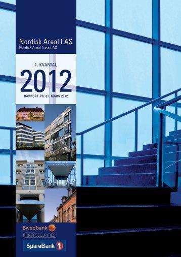 Rapport pr. 31. mars 2012 - Swedbank