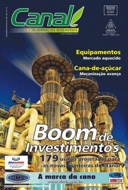 setor sucroalcooleiro - Canal : O jornal da bioenergia
