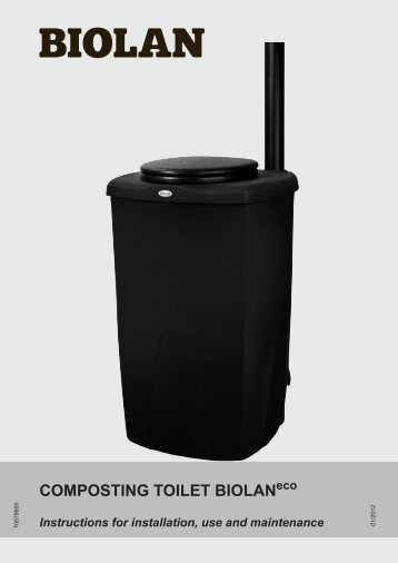 Waterless Di Easy Body 90 Capsule: Technology Review Of Composting Toilets