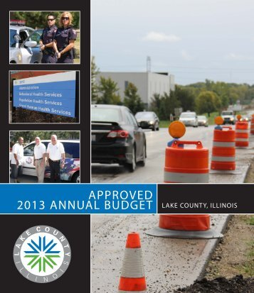 2013 Approved Budget - Lake County Illinois