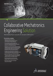 Collaborative Mechatronics Engineering Solution - Dassault Systèmes