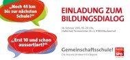 Einladung zum Bildungsdialog - Angelika Weikert, MdL