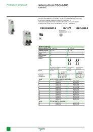 Interruttore DC - Schneider Electric