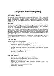Fördergrundsätze der Bielefelder Bürgerstiftung Fördergrundsätze ...