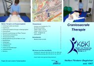 Flyer Craniosacrale Therapie.pub - bei KöKi