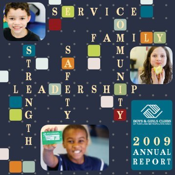 2009 - Boys & Girls Clubs of Portland Metropolitan Area