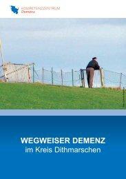 Webversion des Dithmarscher Demenzwegweisers. - Alzheimer ...