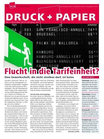 DRUCK + PAPIER 5/2014