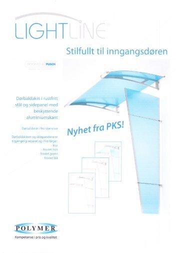 Lightline plexiglasstak/plexiglassbaldakin - Fana Glass