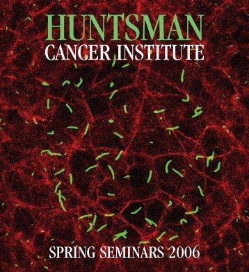 602693 Mailer final - Huntsman Cancer Institute - University of Utah