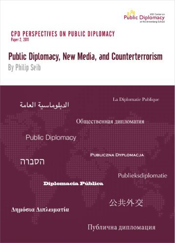 Public Diplomacy, New Media, and Counterterrorism