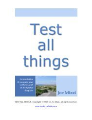 Test All Things - Christian Issues
