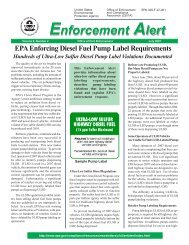 EPA Enforcing Diesel Fuel Pump Label Requirements