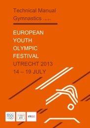 19 JULY Technical Manual Gymnastics 1 July 2013