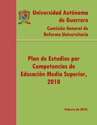 Plan de Estudios por Competencias de Educación Media ... - Inicio