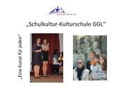 """""""Schulkultur-Kulturschule GGL"""" - Gesamtschule Gleiberger Land"""