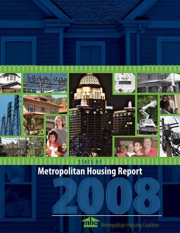 2008 State of Metropolitan Housing Report