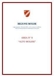 "regione mo ""alto mol regione molise regione molise area n° 8 alto ..."