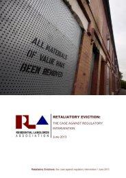 RETALIATORY EVICTION: - RLA News Hub - Residential Landlords ...