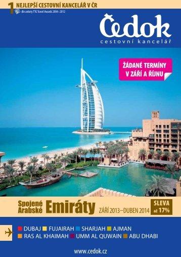 Spojené arabské emiráty - Čedok as